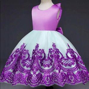 Other - New Easter Dress Tulle Satin Flower Girl Gown